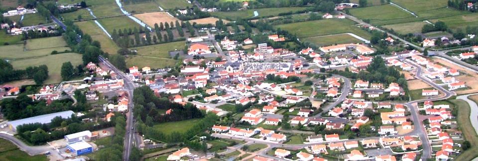Le Perrier (Vendée) Vue générale
