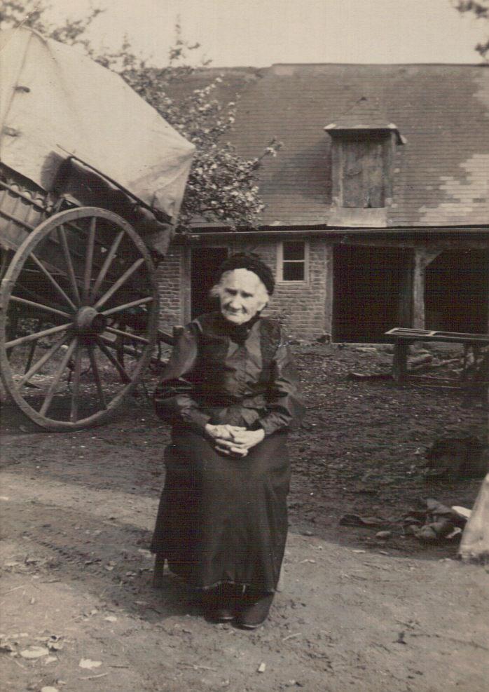 Vénérande Hirma Lemercier (1846/1932) épouse d'Alexandre Lemonnier