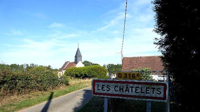Les Châtelets (28) L'église Saint-Pierre