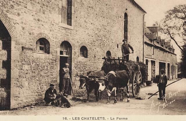 Les Châtelets (28) La ferme CPA