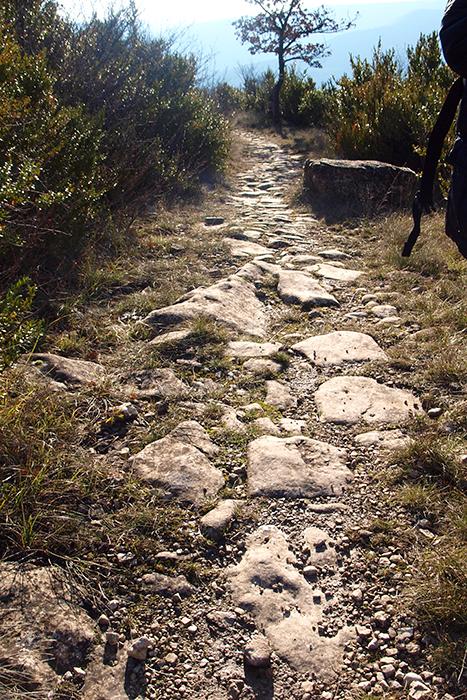 Les Plans (Hérault) La voie romaine