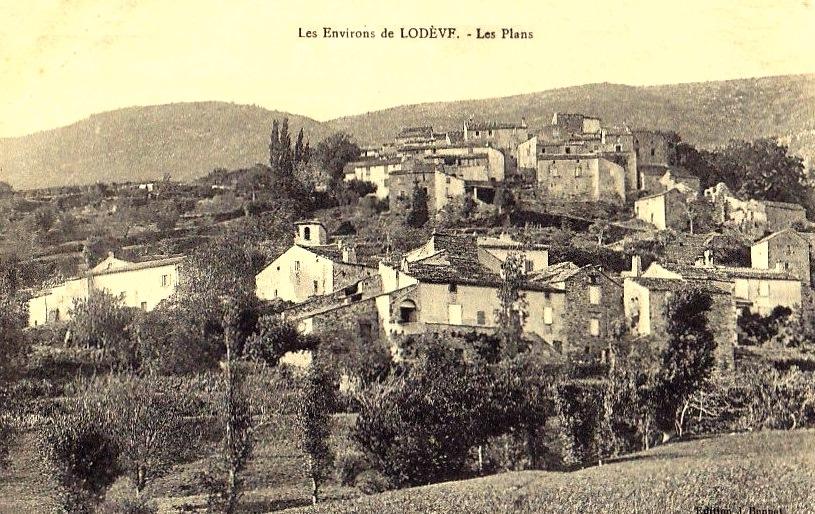 Les Plans (Hérault) Vue générale CPA