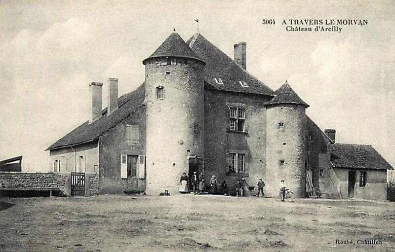 Limanton (Nièvre) Arcilly, le manoir CPA