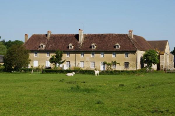 Limanton (Nièvre) Bellevaux, l'ancienne abbaye