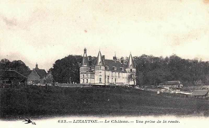 Limanton (Nièvre) Le château CPA