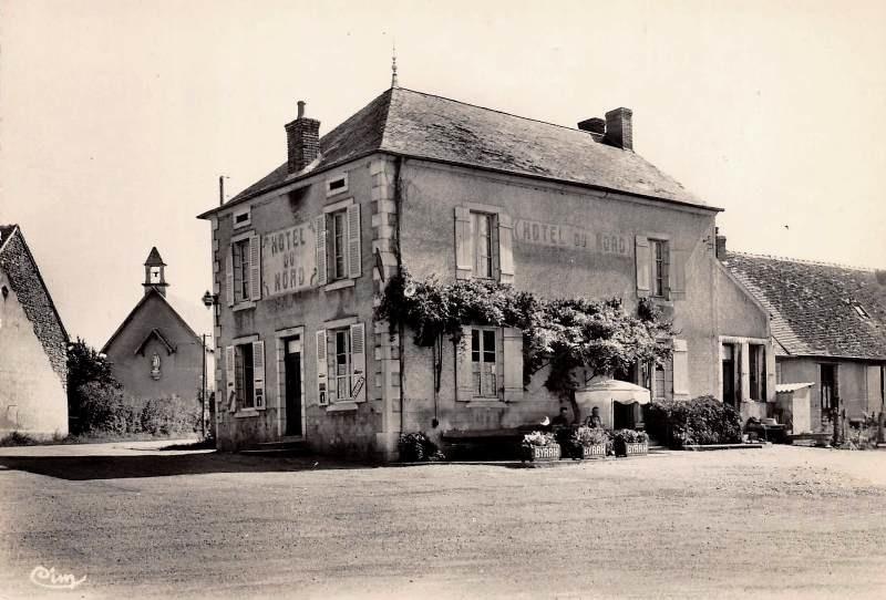 Limanton (Nièvre) Panneçot, l'hôtel du Nord CPA