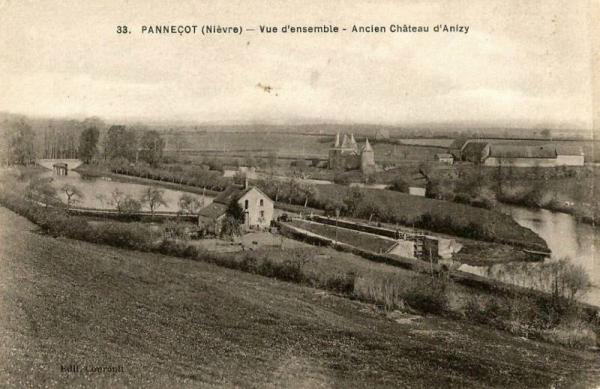 Limanton (Nièvre) Panneçot, vue générale