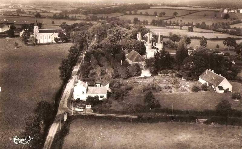 Limanton (Nièvre) Vue générale vers 1955 CPA