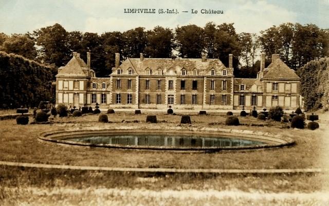 Limpiville (Seine Maritime) Château du Vaudroc CPA 1950