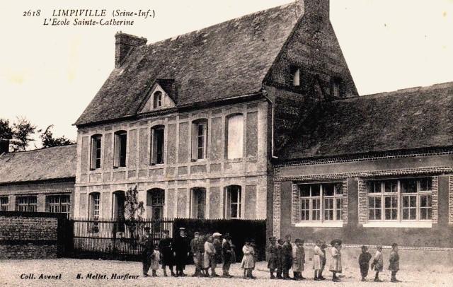Limpiville (Seine Maritime) Ecole Ste Catherine CPA
