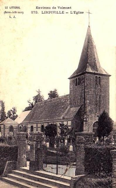 Limpiville (Seine Maritime) Eglise Notre-Dame CPA