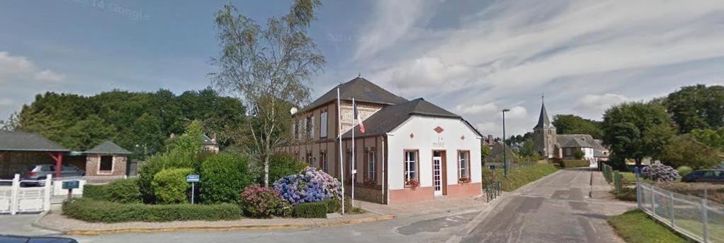 Limpiville (Seine Maritime) Mairie et église