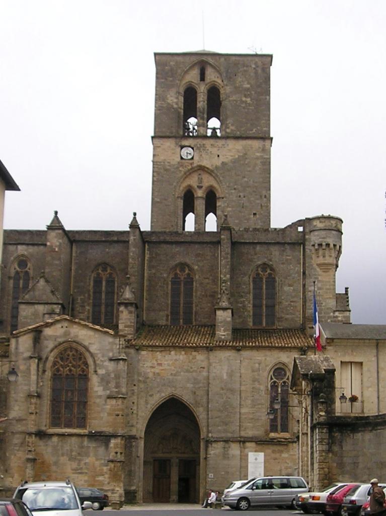 Lodève (Hérault) La cathédrale St Fulcran