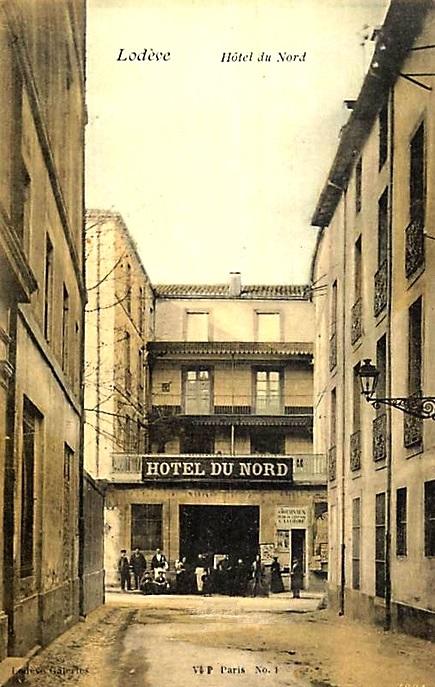Lodève (Hérault) L'Hôtel du Nord CPA
