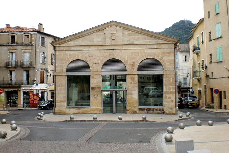Lodève (Hérault) La halle Dardé