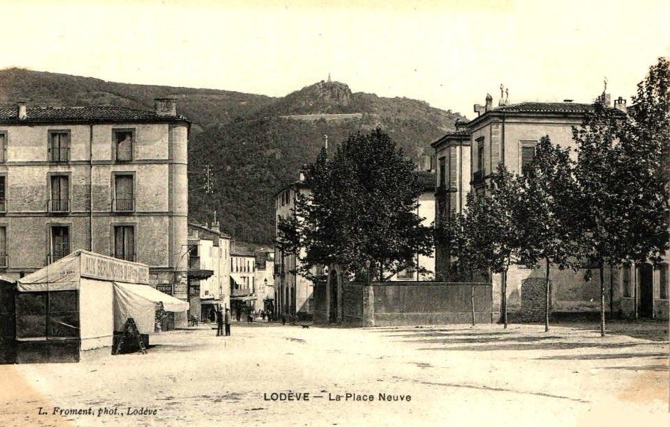 Lodève (Hérault) La place neuve CPA