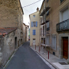 Lodève, rue du 24 février ou habitait Jean Antoine Paul Guiraudon (1837/1900)