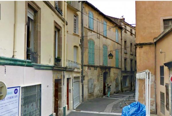2013 : La rue Fleury ou habitait Fulcran de 1893 à 1898