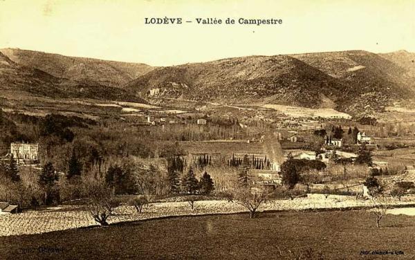 Lodève (Hérault) La vallée de Campestre CPA