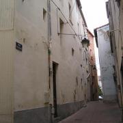 Lodève, rue de la Fraternité où habitait Fulcran en 1890