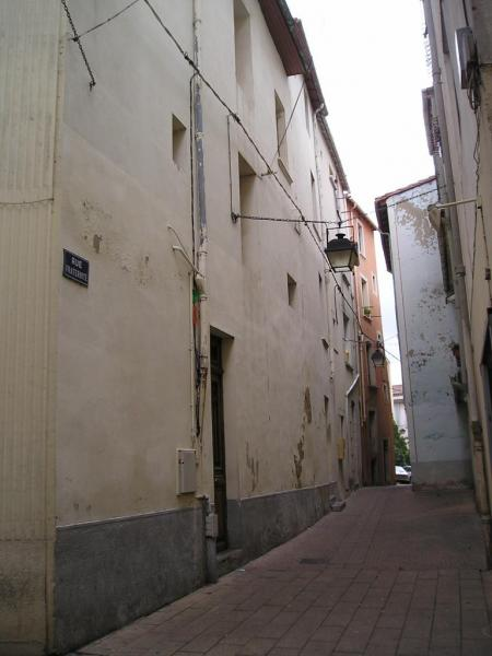 2005 : La rue de la Fraternité ou habitait Fulcran en 1890