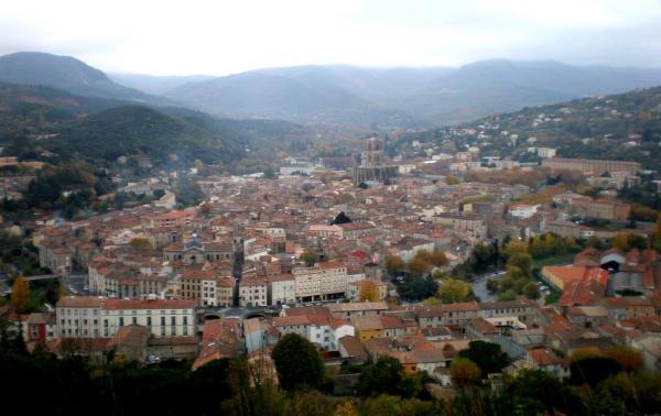 Lodève (Hérault) Vue générale