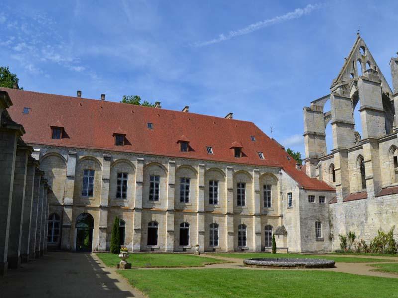 Longpont (Aisne) l'Abbaye