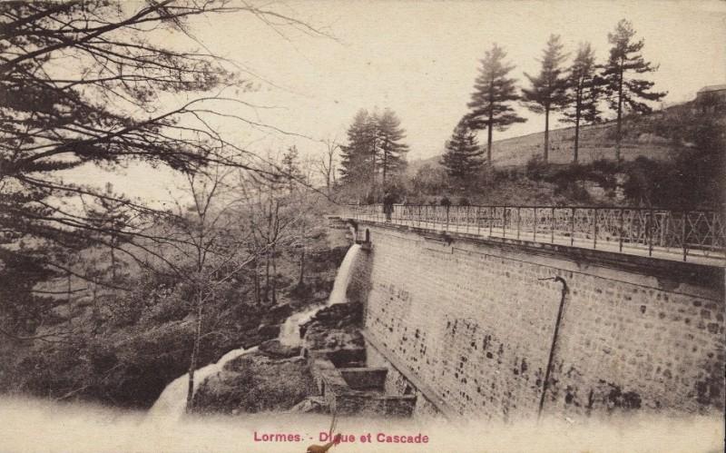 Lormes (Nièvre) La digue CPA