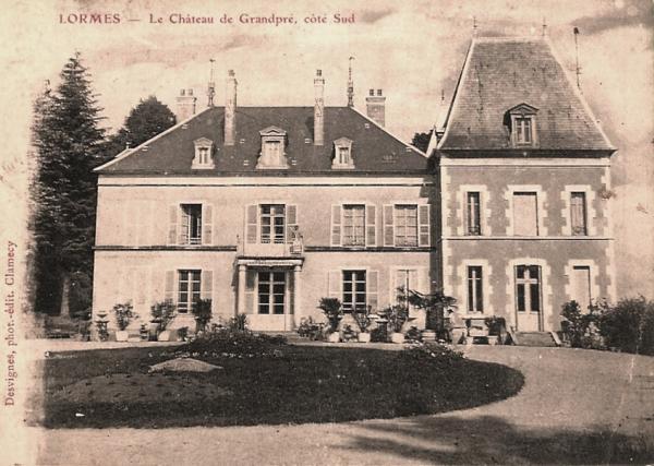 Lormes (Nièvre) Le château de Grandpré CPA