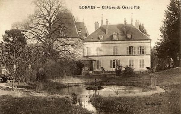 Lormes (Nièvre) Le château de Granpré CPA
