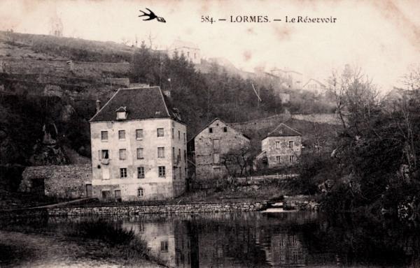 Lormes (Nièvre) Le réservoir CPA