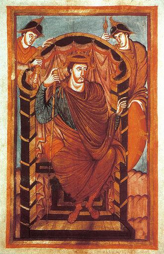 Lothaire Ier, évangéliaire