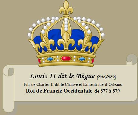 Louis II dit le Bègue