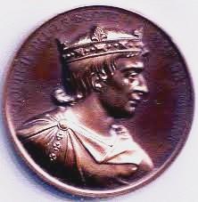 Louis II en médaillon