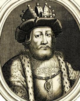 Louis II, gravure sur cuivre de 1679