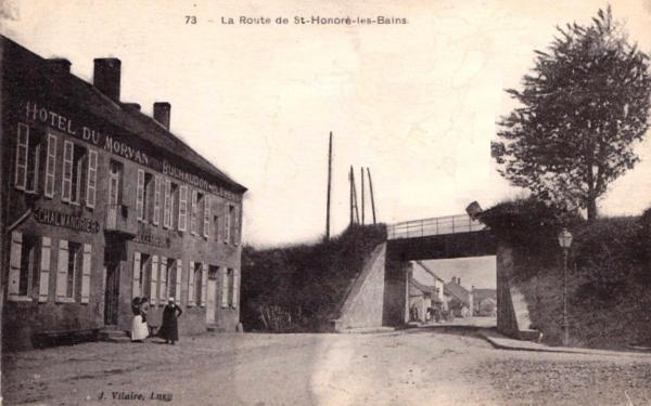 Luzy (Nièvre) L'Hôtel du Morvan CPA