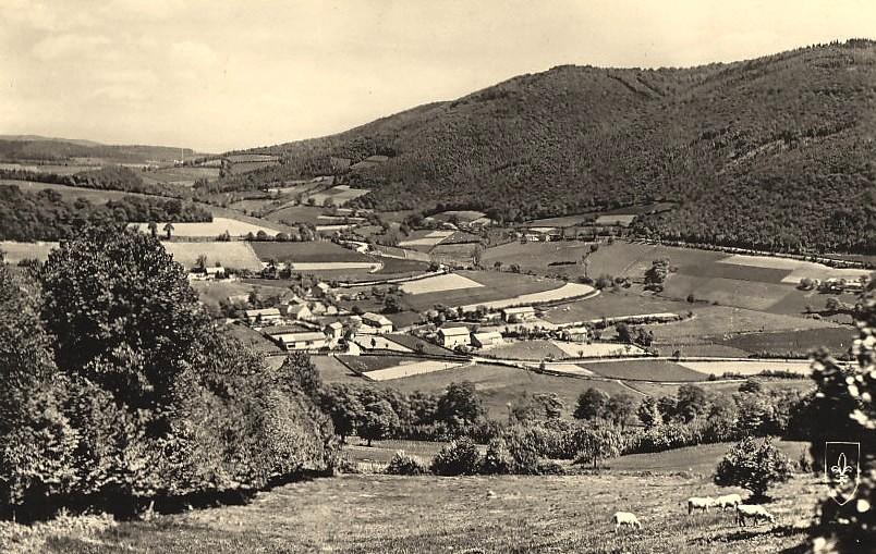 Luzy (Nièvre) Le Mont Beuvray CPA