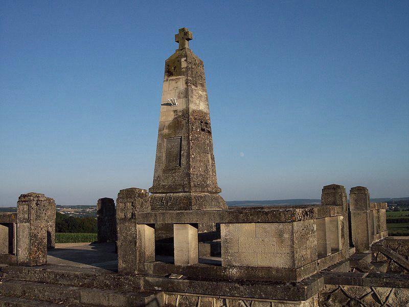 Luzy-Saint-Martin (Meuse) Le mémorial Allemand