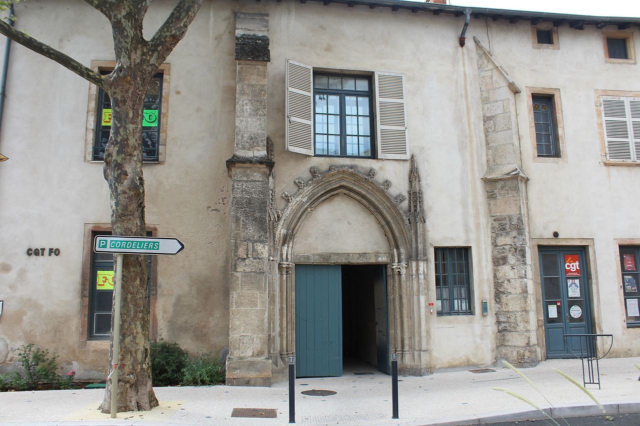 Mâcon (71) Ancien couvent des Cordeliers
