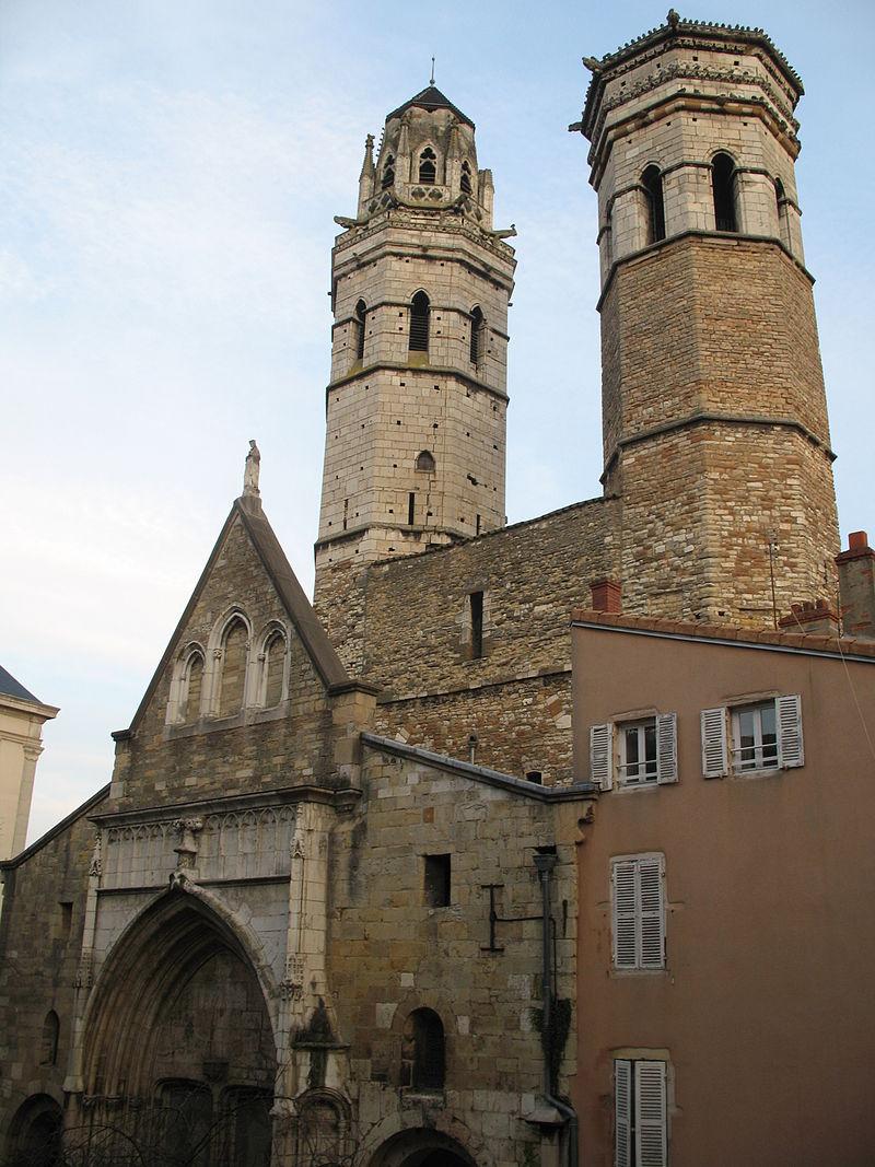Mâcon (71) Eglise-cathédrale Vieux Saint-Vincent