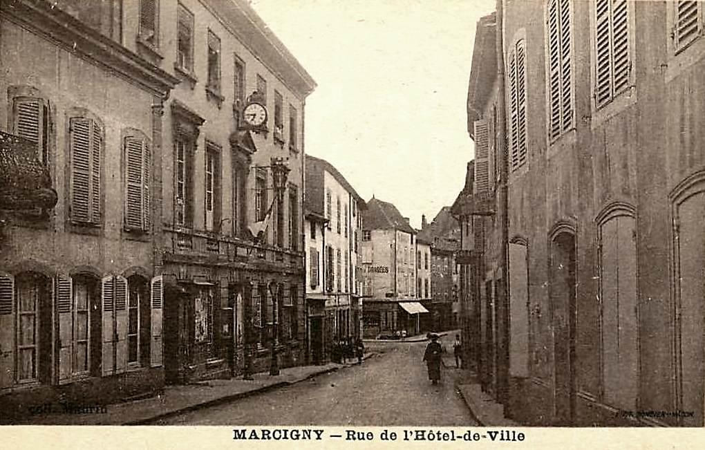 Marcigny (71) Mairie CPA