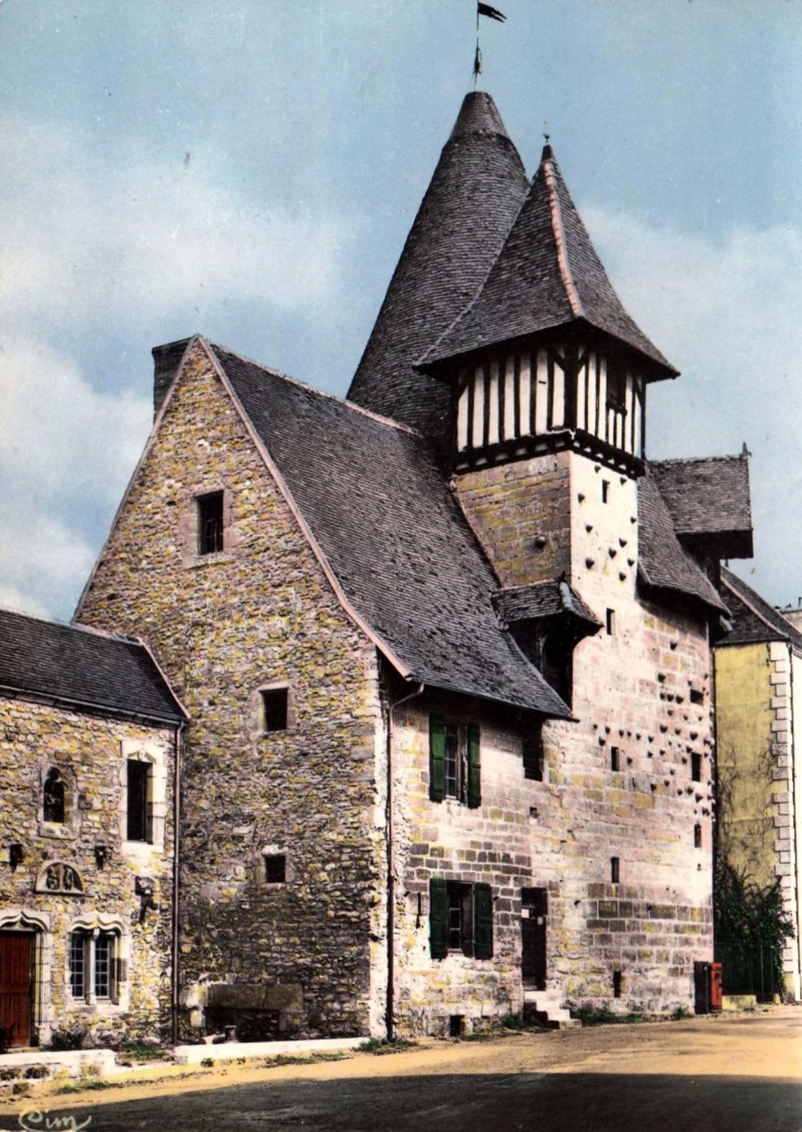 Marcigny (71) Tour du Moulin CPA