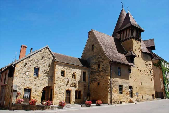Marcigny (71) Tour du Moulin