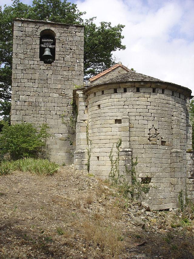 Marnhagues-et-Latour (Aveyron) Marnhagues, chapelle romane