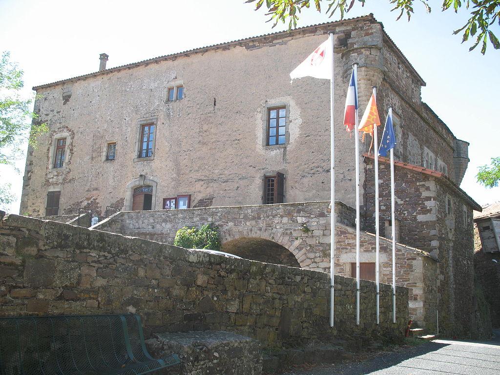 Marnhagues-et-Latour (Aveyron) Latour, le château