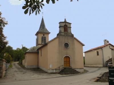 Marnhagues-et-Latour (Aveyron) Latour, église