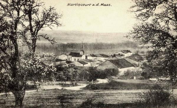 Martincourt-sur-Meuse (Meuse) CPA