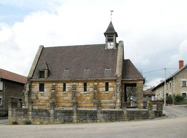 Martincourt-sur-Meuse (Meuse) L'église