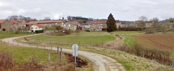 Martincourt-sur-Meuse (Meuse) Vue générale
