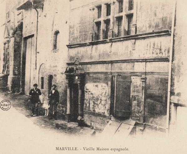 Marville (Meuse) Les façades Renaissance CPA